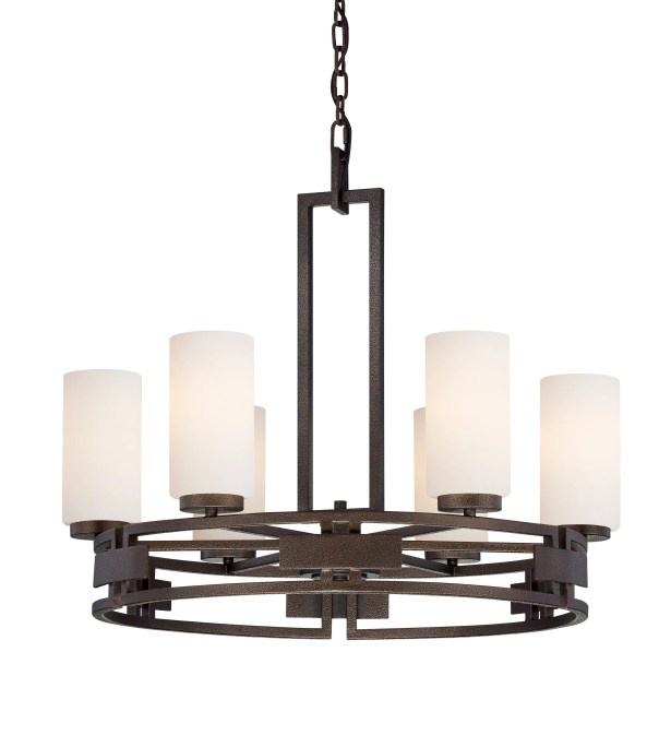 Del Ray 6-Light Shaded Chandelier