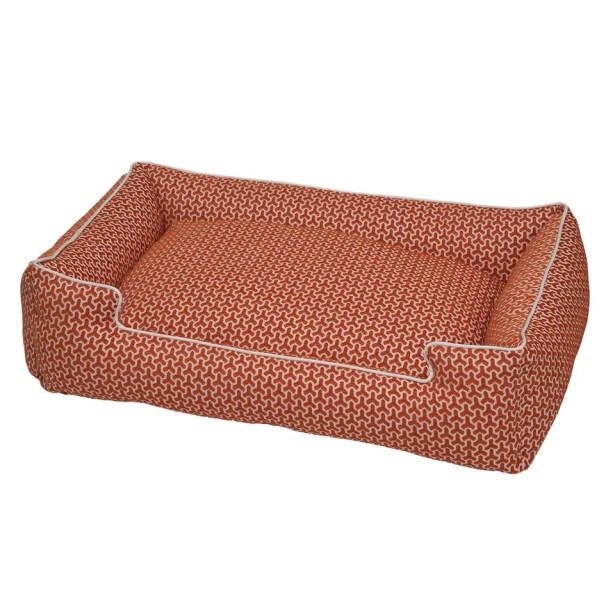 Premium Cotton Blend Lounge Bolster Bed Size: Medium (27