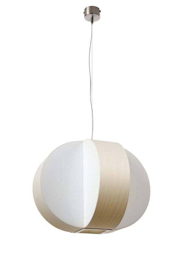 Carambola 4-Light Pendant Shade Color: Ivory White