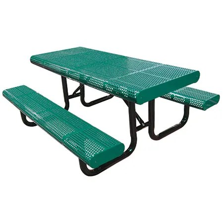 Radial Picnic Table Finish: Blue, Table Size: 48