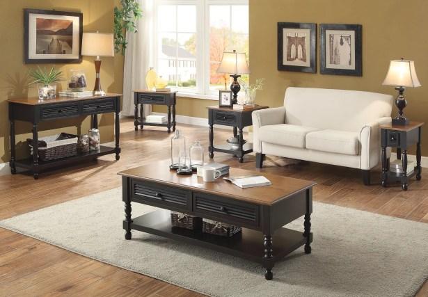 Hermila 5 Piece Coffee Table Set