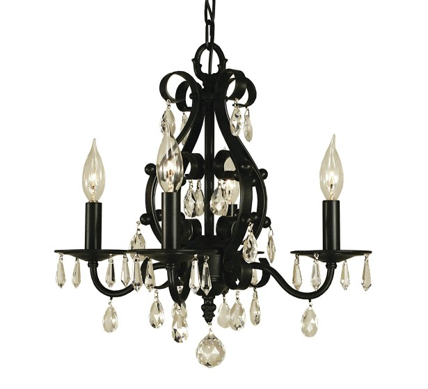 Liebestraum 4-Light Candle Style Chandelier Color: Mahogany Bronze