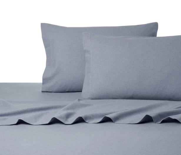 Heather Flannel Sheet Set Size: King, Color: Mauve