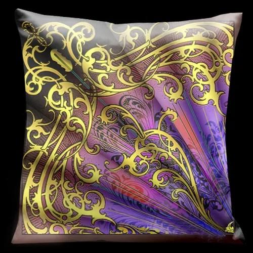 Parisian Throw Pillow