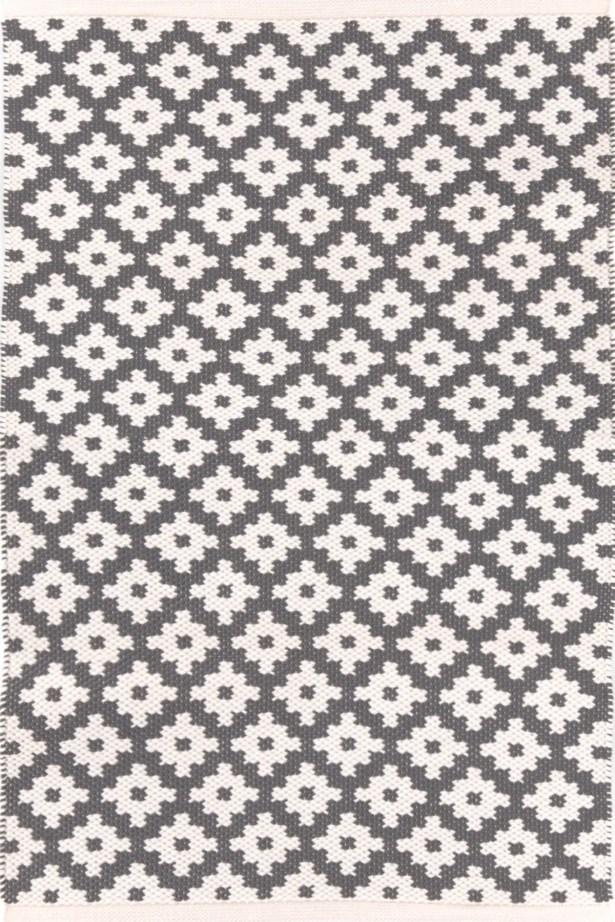 Samode Hand Woven Grey Indoor/Outdoor Area Rug Rug Size: Rectangle 3' x 5'