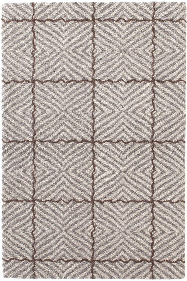 Nigel Mirco Hooked Gray Area Rug Rug Size: Rectangle 10' x 14'