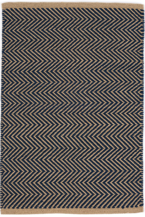 Arlington Hand Woven Blue Indoor/Outdoor Area Rug Rug Size: Rectangle 3' x 5'
