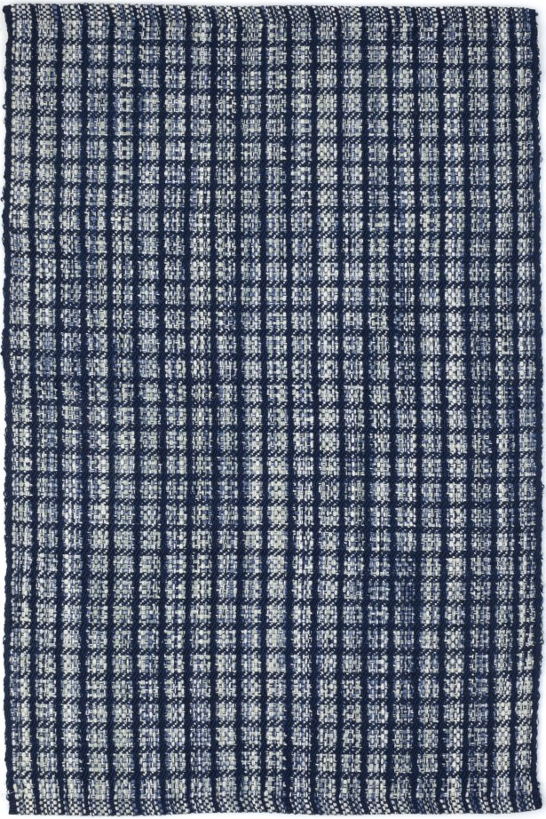 Coco Hand-Woven Blue Indoor/Outdoor Area Rug Rug Size: Rectangle 8'6