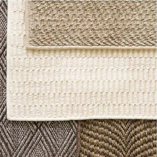 Sisal Sand Area Rug Rug Size: 12' x 20'