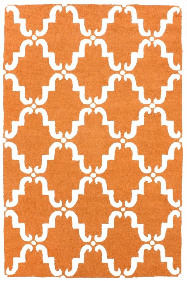 Moderna Pumpkin Trellis Rug Rug Size: Rectangle 5' x 8'