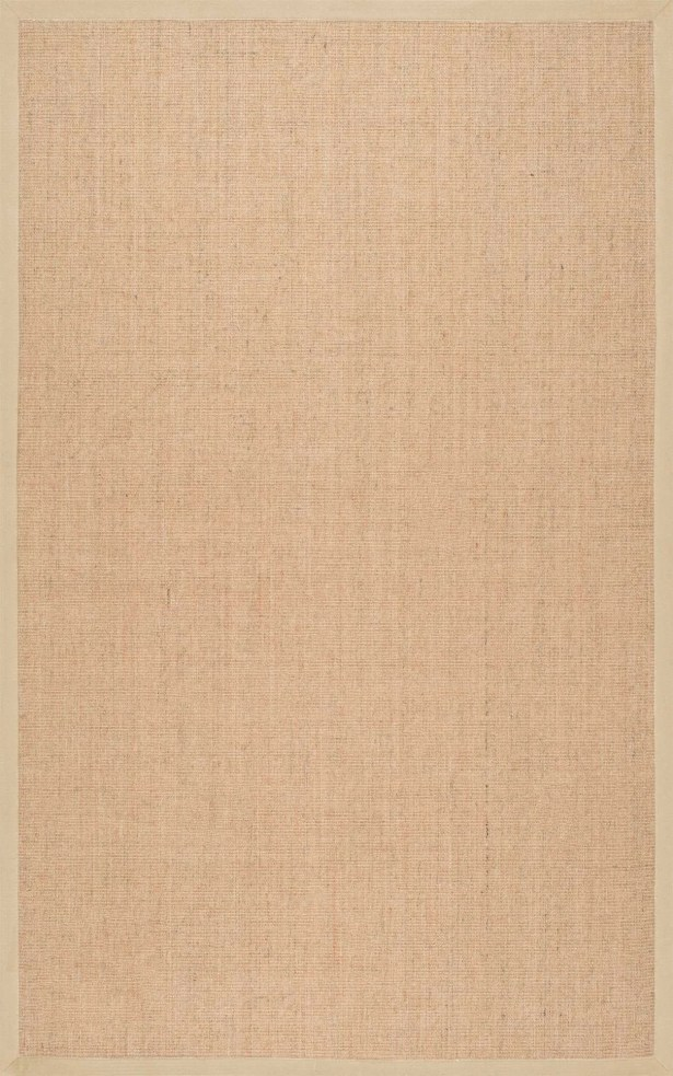 Alhambra Contemporary Sand Area Rug Rug Size: Round 6'