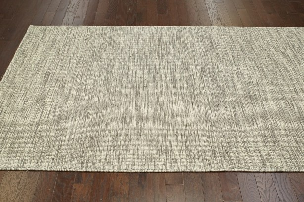 Ayers Wool Gray Area Rug Rug Size: Rectangle 7'6