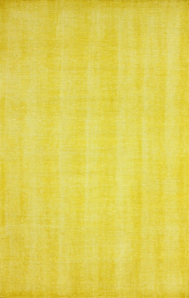 Zem Wynona Hand-Knotted Wool Gold Area Rug Rug Size: Rectangle 4' x 6'