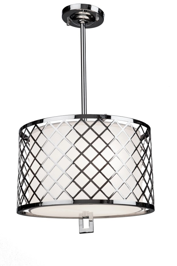 Coline Contemporary Drum Pendant