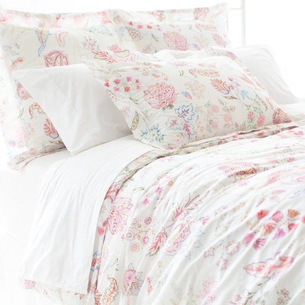 Mirabelle 200 Thread Count 100% Cotton Sheet Set Size: King