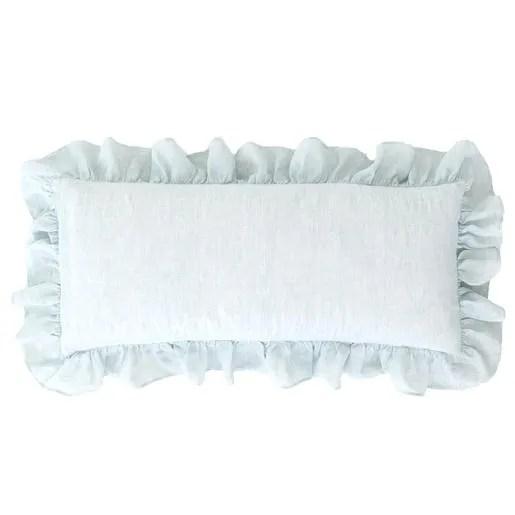 Savannah Linen Lumbar Pillow