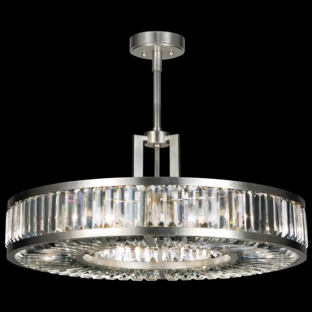 Crystal Enchantment 6-Light Crystal Chandelier