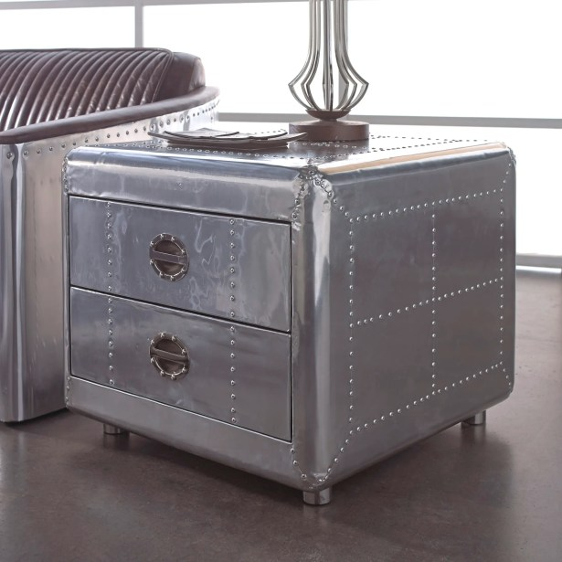 Lindbergh Bomber End Table