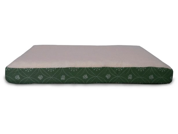 Boris Flannel Egg-Crate Orthopedic Dog Bed Size: Small (20