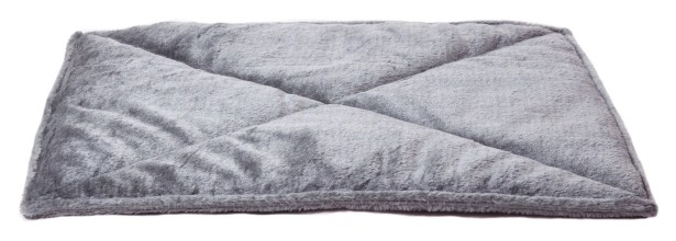 ThermapNAP� Faux Fur Mat/Pad Color: Gray