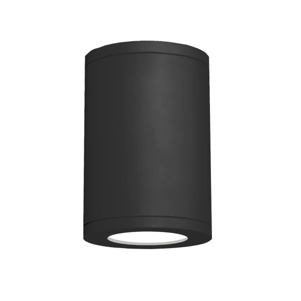 Janice 1-Light Flush mount Finish: Black, Size: 11.81