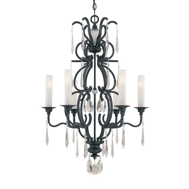 Castellina 6-Light Shaded Chandelier