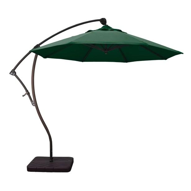 9' Cantilever Umbrella Fabric: Hunter Green