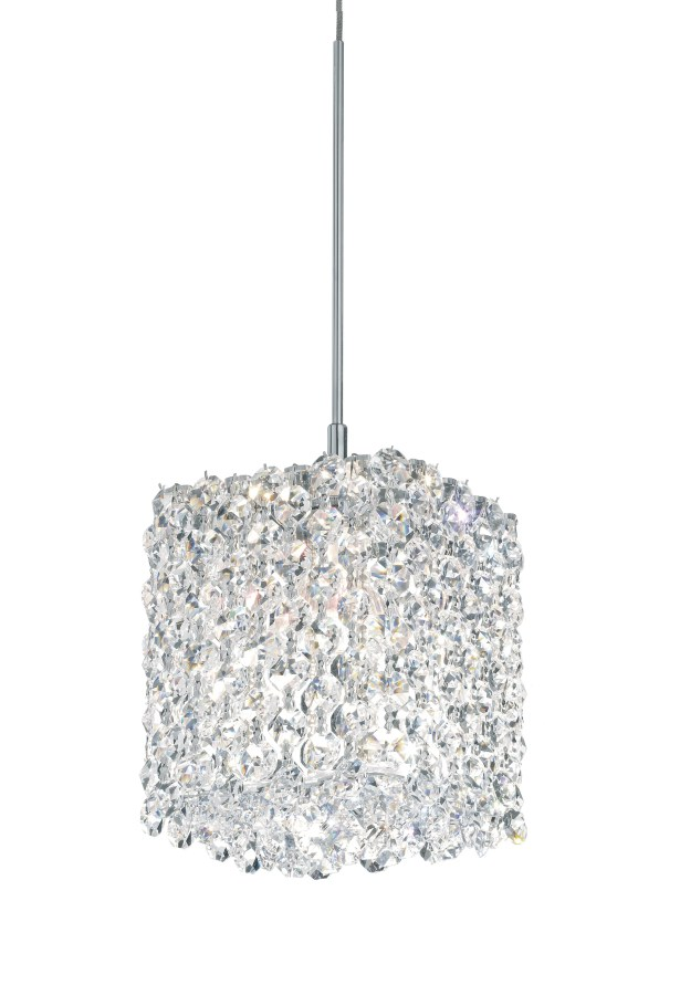 Refrax 1-Light Crystal Pendant Crystal Type: Swarovski Elements Travertine