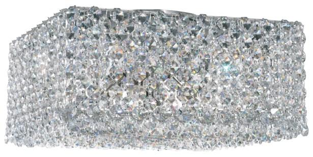 Refrax 4-Light Flush Mount Crystal Type: Swarovski Elements Ocelot