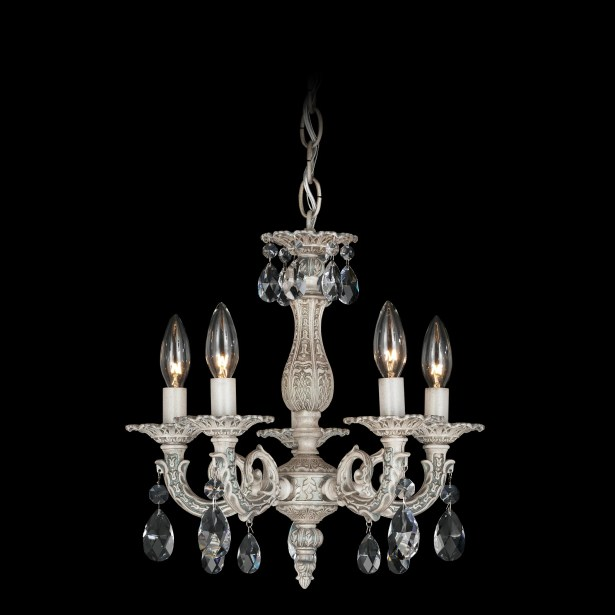 Milano 5-Light Chandelier Finish / Crystal Color: French Gold / Strass Clear