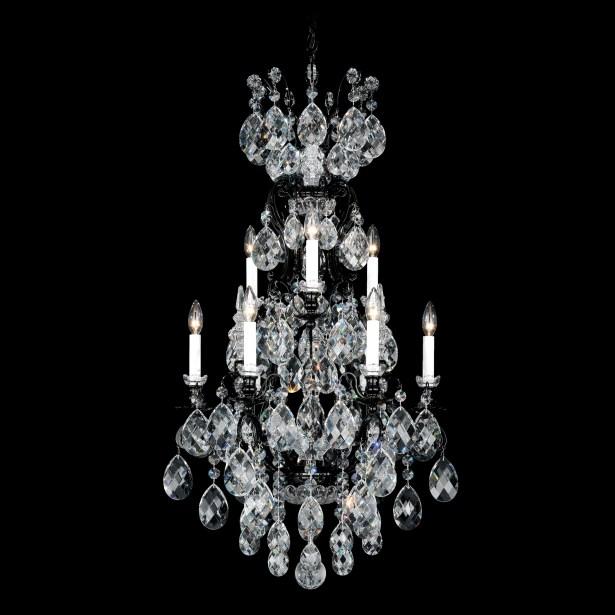 Renaissance 9-Light Chandelier Finish / Crystal Color: Etruscan Gold / Handcut Clear