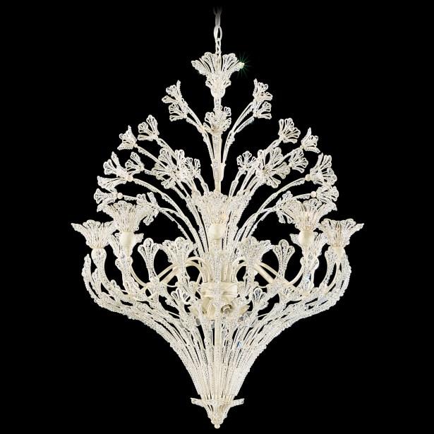 Rivendell 15-Light Chandelier Crystal Type: Swarovski Elements Clear, Finish: Heirloom Bronze