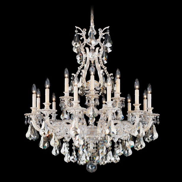 Sophia 18-Light Chandelier Finish: French Gold, Crystal Color: Strass Clear
