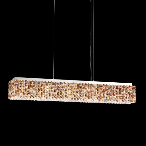 Refrax 6-Light Crystal Chandelier Crystal: Travertine from Swarovski