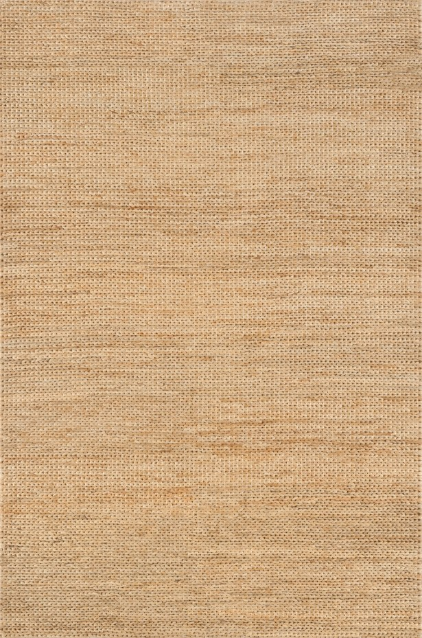 Hand-Woven Natural Area Rug Rug Size: Rectangle 5' x 7'6