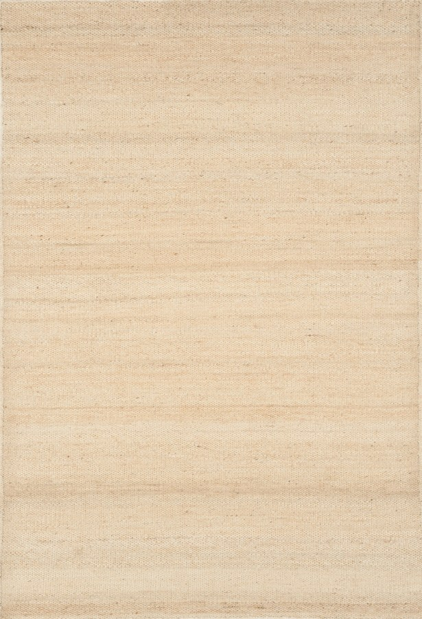 Hand-Woven Bleached Area Rug Rug Size: Rectangle 8' x 10'