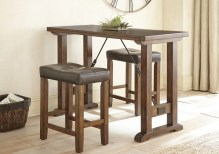 Dining Table Sets Adams Northwest 3 Piece Counter Height Dining Set