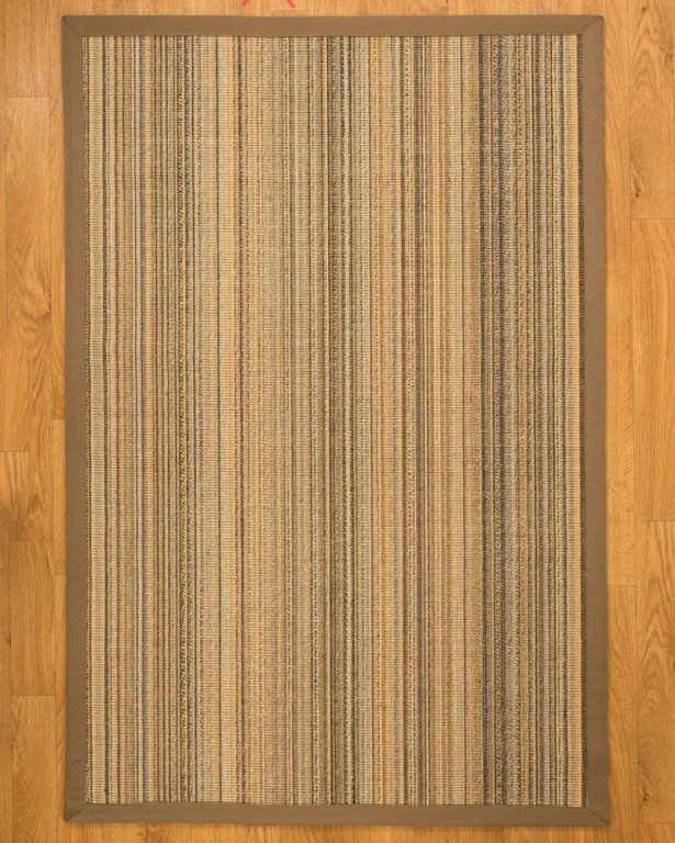Galena Wide Canvas Border Area Rug Rug Size: Rectangle 4' x 6'