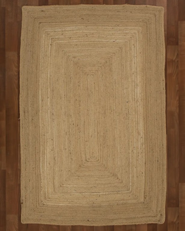 Cannes Jute Natural Area Rug Rug Size: Rectangle 9' x 12'