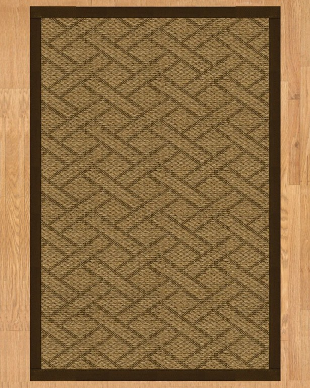Shanghai Hand Crafted Fudge Area Rug Rug Size: Rectangle 9' x 12'