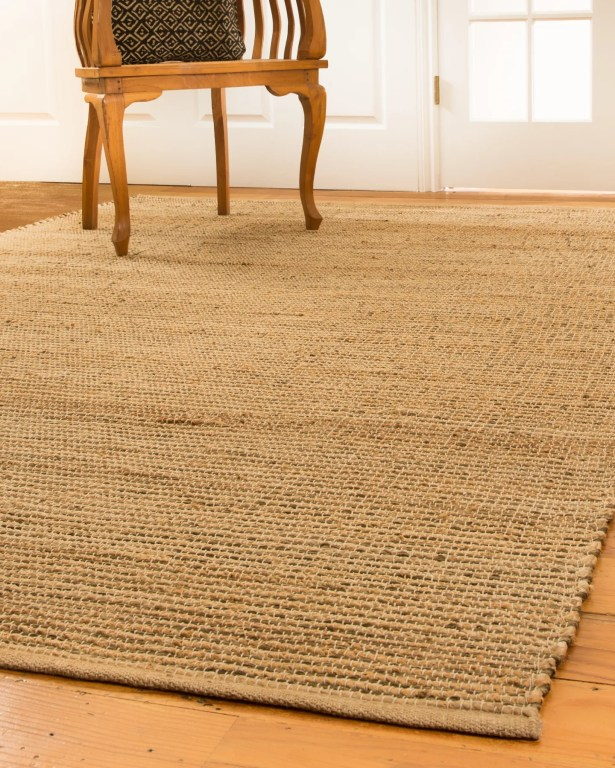 Nottingham Hand-Loomed Tan/Beige Area Rug Rug Size: Rectangle 6' x 9'