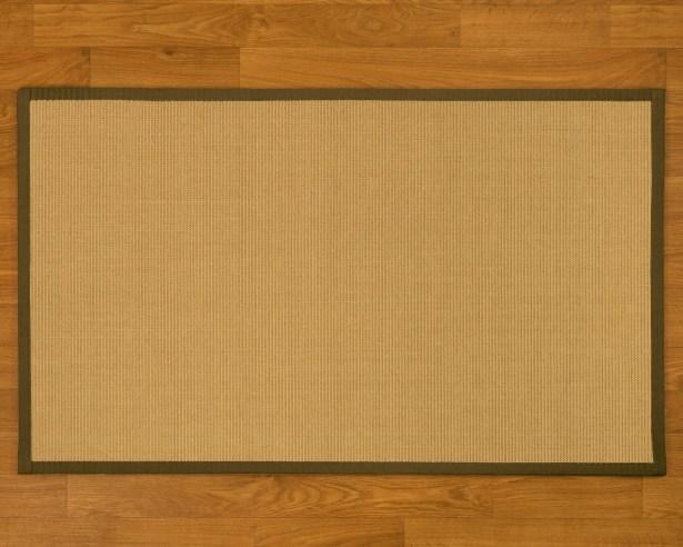 Buschwickl Handmade Beige Area Rug Rug Size: Rectangle 9' x 12'