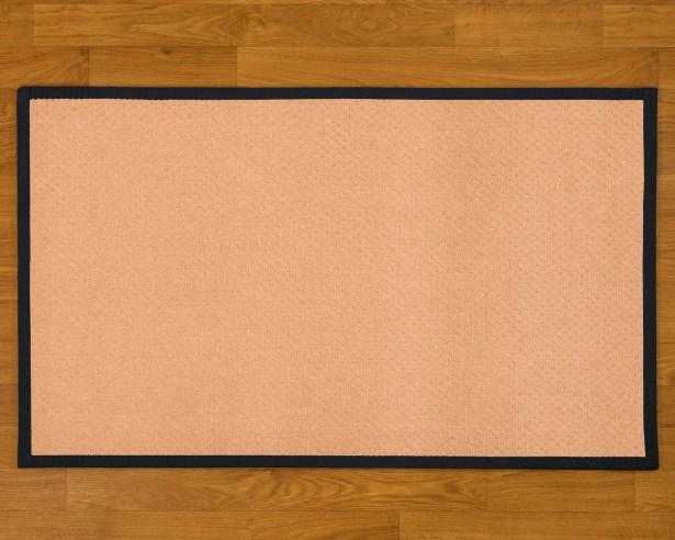 Handmade Beige Area Rug Rug Size: Rectangle 5' x 8'