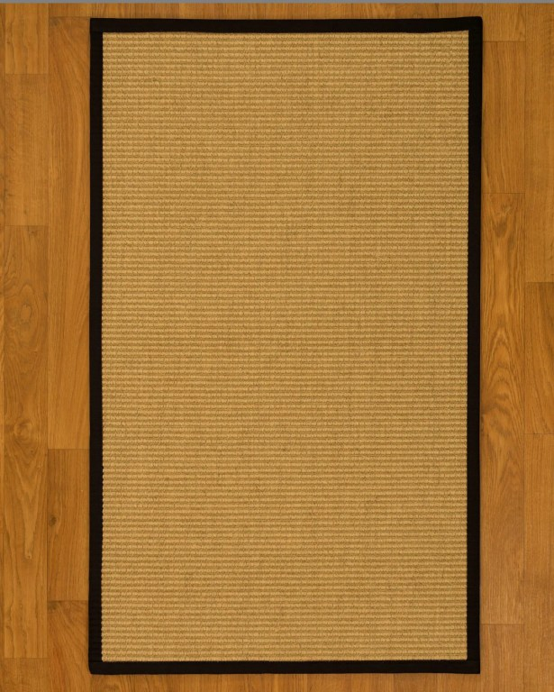 Bulpitt Natural Fiber Sisal Hand-Woven Beige Area Rug Rug Size: Rectangle 9' x 12'
