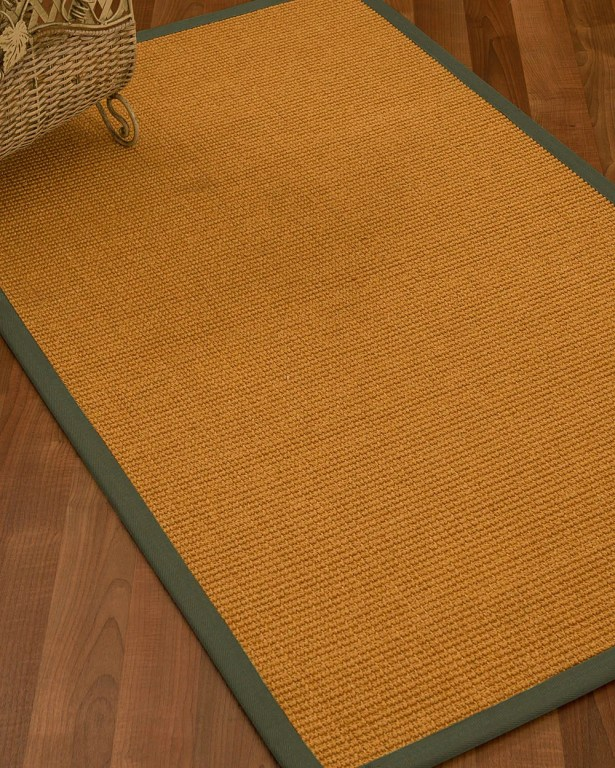 Bullen Hand Woven Brown Area Rug Rug Size: Rectangle 4' X 6'