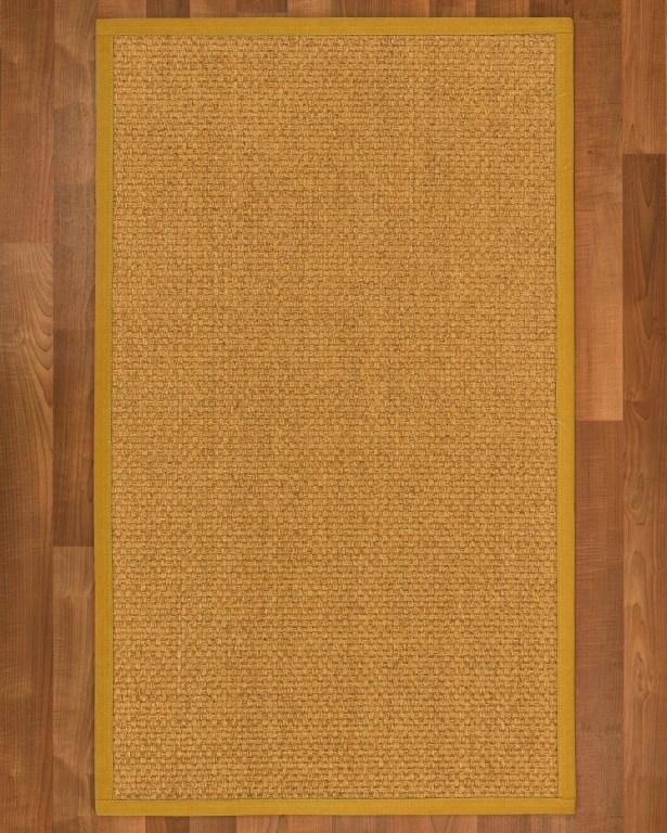 Andlau Hand-Woven Tan Area Rug Rug Size: Rectangle 4' X 6'