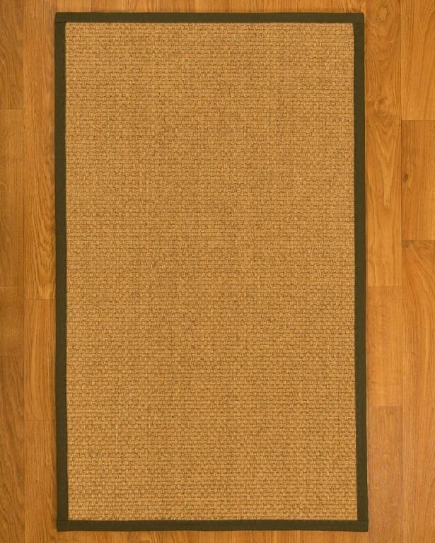 Andlau Hand-Woven Tan Area Rug Rug Size: Rectangle 9' X 10'