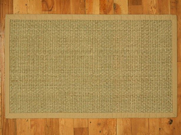 Alland Handmade Beige Area Rug Rug Size: Rectangle 8' x 10'
