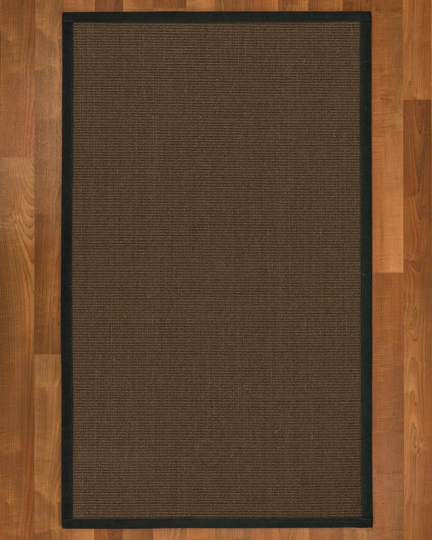 Brokaw Hand Woven Brown Area Rug Rug Size: Rectangle 4' X 6'