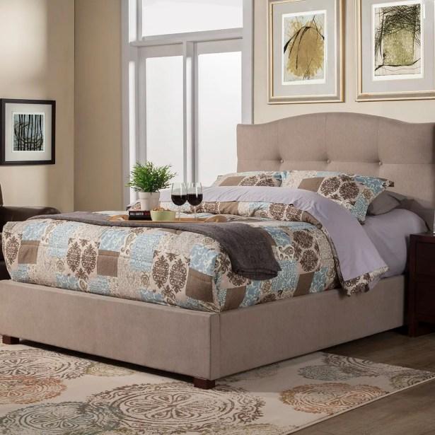 Anne Platform Bed Size: Queen